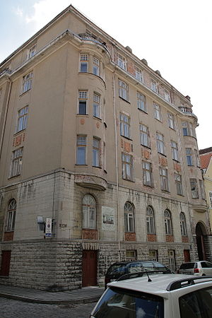 Ministry of Defence (Estonia) - Building of the Ministry of War, Lai 44/Pagari 1, Tallinn