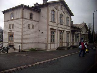 Ekenäs railway station