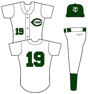 Tampa Catholic High School - Image: Tampa Catholic High School baseball home uniform