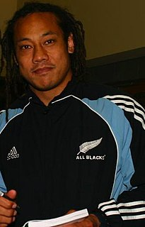 Tana Umaga New Zealand rugby league footballer, and rugby union footballer and coach