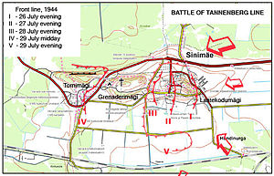 Battle of Tannenberg Line - Image: Tannenberg 1944