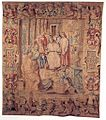 Tapestry by unknown weaver - Lorenzo de' Medici and His Artists in the Sculpture Garden - WGA24185.jpg