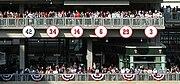 Trikotnummern, die nicht mehr vergeben werden im Target Field