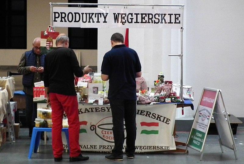File:Targi Smaki Regionow 2017 w Poznaniu, MTP, Cuisine of Hungary.jpg