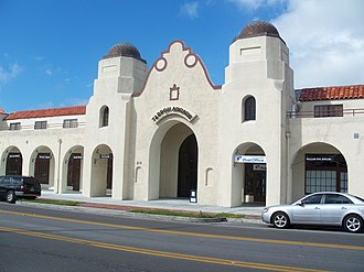 Arcade Hotel (Tarpon Springs, Florida) - Image: Tarpon Springs Arcade Hotel 01