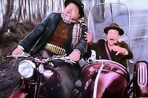 Aldo Fabrizi - Totò and Fabrizi in The Overtaxed (1959)