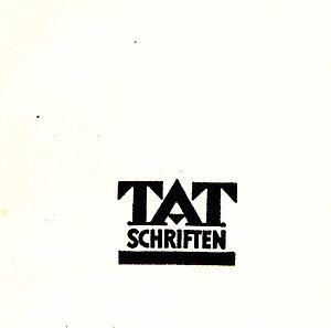 Die Tat - Tat Schriften (1931)