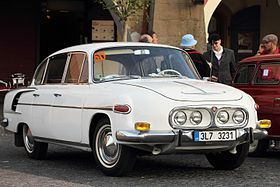 Tatra 2-603, 2013 Oldtimer Bohemia Rally 02.JPG
