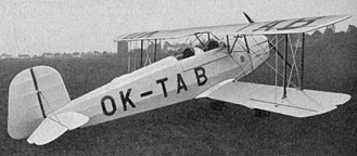 Bücker Bü 131 - Tatra T.131 photo from Le Pontentiel Aérien Mondial 1936
