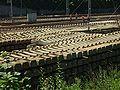 Tczew, Kolejowa, pražce.JPG