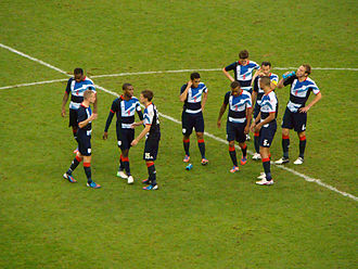 Craig Dawson - Dawson (wearing No.6) playing for Team GB, before a penalty shoot-out against South Korea at London 2012.