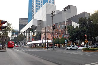 San José Insurgentes - Teatro de los Insurgentes and Avenida de los Insurgentes, San José Insurgentes