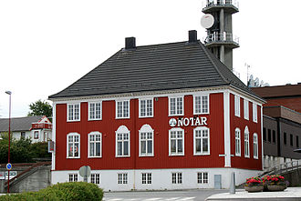 Brønnøysund - This building is known as Telegrafen as it originally housed the telegraph in town.