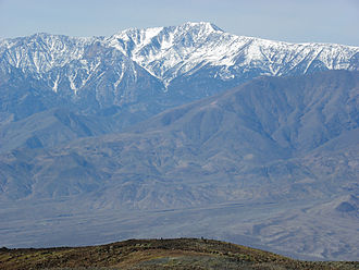 Telescope Peak - Telescope Peak viewed from Devil's Golf Course, Death Valley, California