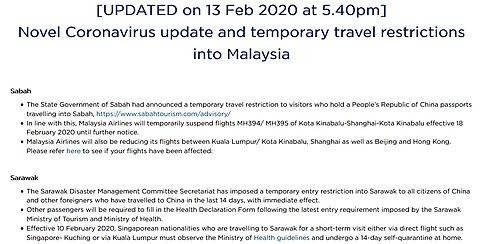 Pandemik Covid 19 Di Malaysia Wikipedia Bahasa Melayu Ensiklopedia Bebas