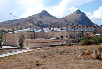 Tercan - The Saltukid caravanserai built in the 12th century.
