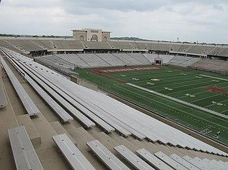 Bobcat Stadium (Texas State) -  Stadium Interior, 2016