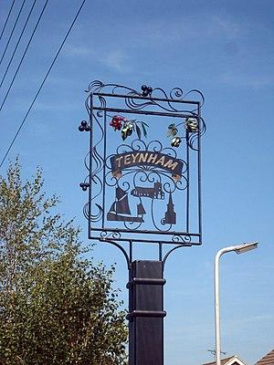 Teynham - Teynham village sign