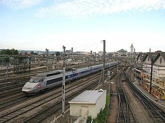 Gare de Limoges-Bénédictins - Image: Tgvli