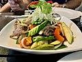 Thai beef dish