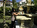 Thai spirit houses in the garden (3179895741).jpg