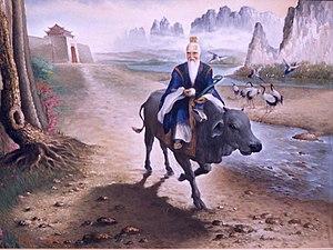 Ilustración de Lao-tsé
