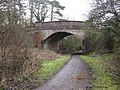 The A264 , Five Oaks Road, bridging the Downs Link path - geograph.org.uk - 1710622.jpg