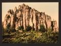The Basaltic rocks at Bort, Auvergne Mountains, France-LCCN2001697566.tif