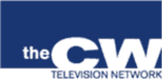 The CW - The CW's original pre-launch logo. At the network's first upfront presentation on May 18, 2006, the provisional blue-and-white rectangle logo that was used during the network's formation announcement in January was replaced by a green-and-white, curved-letter insignia that drew comparisons to the logo used by CNN, another company with Time Warner ownership interest.