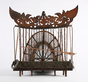 Old World quail - Image: The Childrens Museum of Indianapolis Quail trap