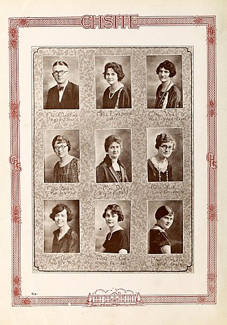 Cary High School - 1915 Cary High School Senior Class Yearbook