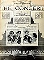 The Concert (1921) - Ad 1.jpg