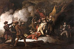 The Death of General Montgomery in the Attack on Quebec, December 31, 1775  - Wikipedia