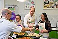 The Duke and Duchess Cambridge at Commonwealth Big Lunch on 22 March 2018 - 132.jpg
