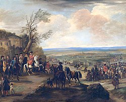 The Duke of Marlborough at the Battle of Oudenaarde (1708) by John Wootton.jpg