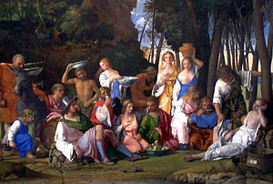 The Feast of the Gods-1514 1529-Giovanni Bellini and Titian half crop.jpg