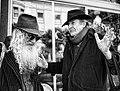 The Free Radicals Poet Laureate Jack Hirschman & Jewish Bohemian Dovid Krafchow discuss Cabala (5466375300).jpg