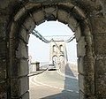 The Gwynedd end of Pont y Borth - geograph.org.uk - 382984.jpg