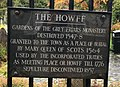 The Howff plaque, Dundee, Scotland.jpg