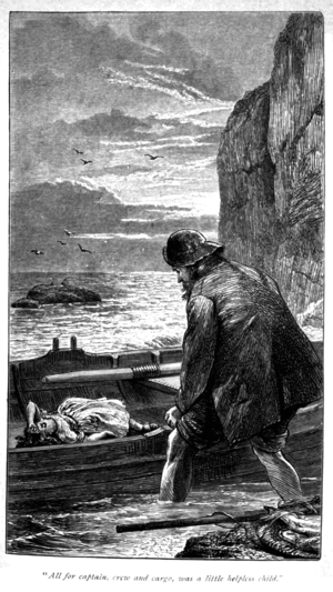 The Maid of Sker - Frontispiece to the 1893 edition