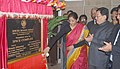 The Minister of State for Commerce & Industry (Independent Charge), Smt. Nirmala Sitharaman laying the foundation stone for proposed Spices Complex, in Nacheybong, Gangtok.jpg