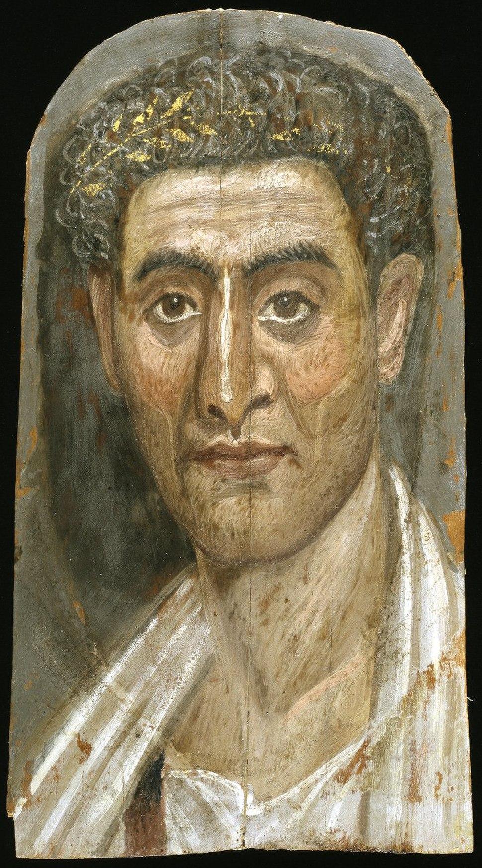 The Mummy of Demetrios, 95-100 C.E.,11.600