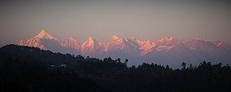 Berinag - Image: The Panchchuli