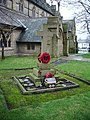 The Parish Church of St Peter, Accrington, War Memorial - geograph.org.uk - 659619.jpg