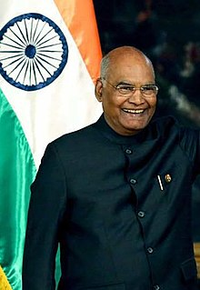 The President of India Ram Nath Kovind on October 18, 2019 (02) (cropped).jpg