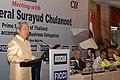 The Prime Minister of the Kingdom of Thailand, Mr. General Surayud Chulanont addressing the Business Luncheon meeting jointly organised by CII, FICCI and ASSOCHAM in New Delhi on June 26, 2007.jpg
