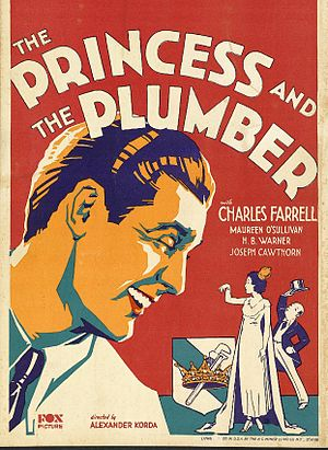 The Princess and the Plumber - Theatrical release poster