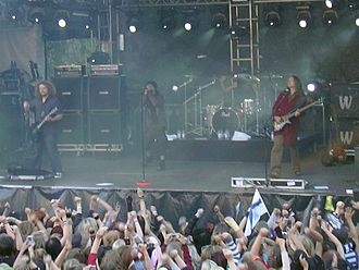 The Rasmus - The Rasmus in concert in Tampere, 2006