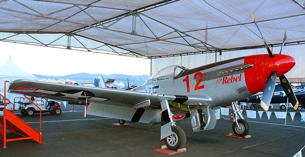 The Rebel P-51D-25NT N151CF 2014 Reno Air Races photo D Ramey Logan