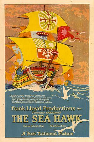 The Sea Hawk (1924 film) - 1924 theatrical poster